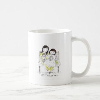 Sisters never grow apart classic white coffee mug