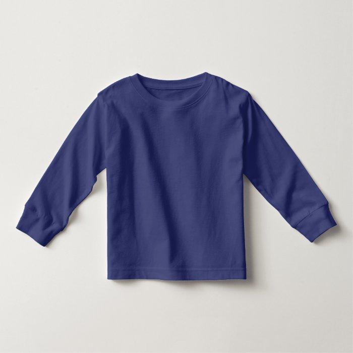Sisters Number Toddler Long Sleeve Light Blue Toddler T-shirt