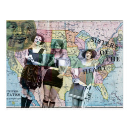 Sisters of the Heart Postcard
