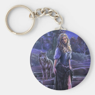 Sisters of the Moon Keychain