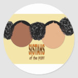 Sisters of the Puff Classic Round Sticker