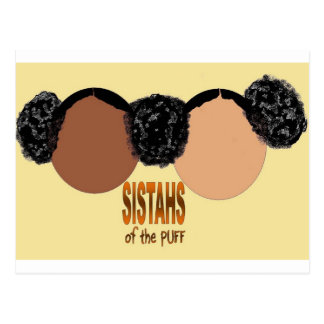 Sisters of the Puff Postcard