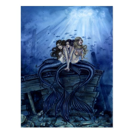 Sisters of the Sea Postcard