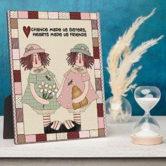 Sisters Poem Plaque