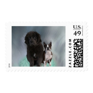 Sisters Postage Stamps