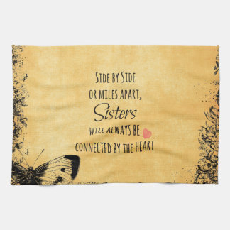 Sisters Quote Towels