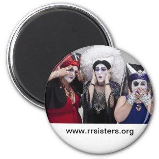 Sisters see no, hear no, speak no evil magnet