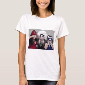 Sisters see no, hear no, speak no evil T-Shirt