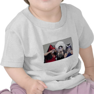 Sisters see no, hear no, speak no evil tee shirt