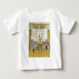 Sisters Sitting in Chairs Baby T-Shirt