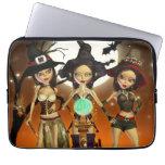 Sisters Three Witch Neoprene Laptop Sleeve