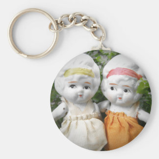 Sisters Through The Ages Basic Round Button Keychain