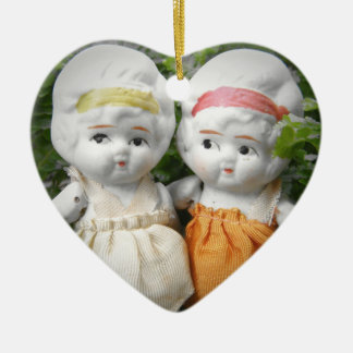 Sisters Through The Ages Ceramic Ornament