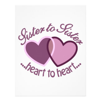 SisterTo Sister Letterhead