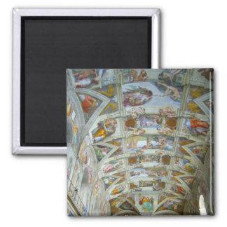 sistine chapel 2 inch square magnet