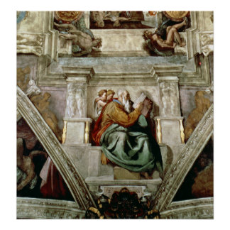 Sistine Chapel Ceiling, 1508-12 Poster