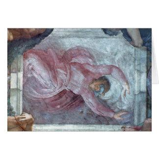 Sistine Chapel Ceiling 2 Card