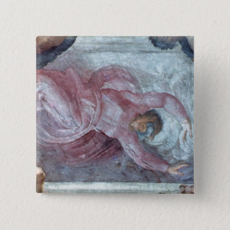 Sistine Chapel Ceiling 2 Pinback Button