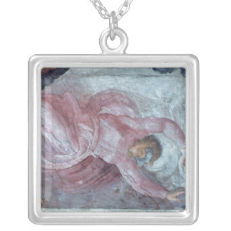 Sistine Chapel Ceiling 2 Silver Plated Necklace