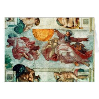Sistine Chapel Ceiling 3 Card