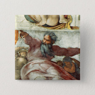 Sistine Chapel Ceiling Button