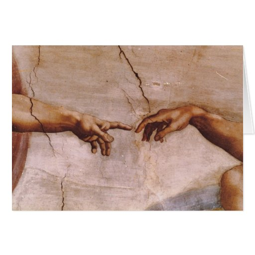 Sistine Chapel Ceiling Card | Zazzle