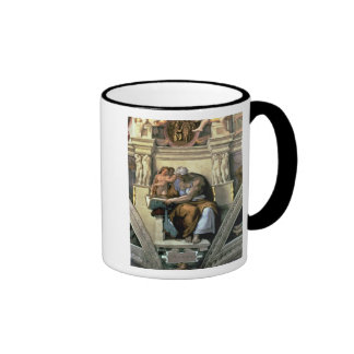 Sistine Chapel Ceiling: Cumaean Sibyl, 1510 Ringer Coffee Mug