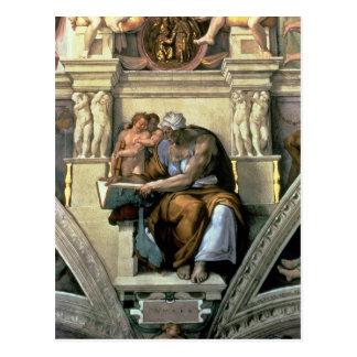 Sistine Chapel Ceiling: Cumaean Sibyl, 1510 Postcard