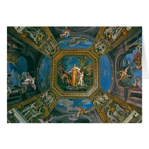 Sistine Chapel Ceiling Detail Greeting Cards