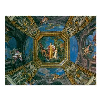 Sistine Chapel Ceiling Detail Postcard