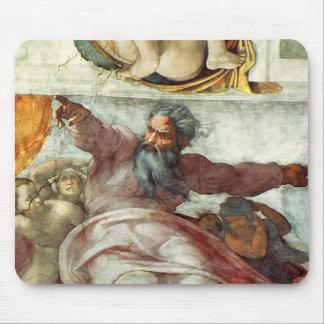 Sistine Chapel Ceiling Mouse Pad
