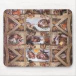 Sistine Chapel Ceiling Mousepad