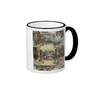 Sistine Chapel Ceiling Ringer Coffee Mug