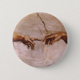 Sistine Chapel Ceiling Pinback Button