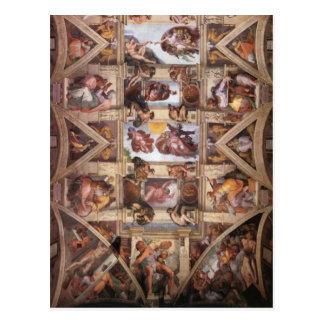 Sistine Chapel Ceiling Postcards
