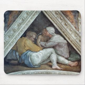 Sistine Chapel Ceiling: The Ancestors of Christ Mouse Pad