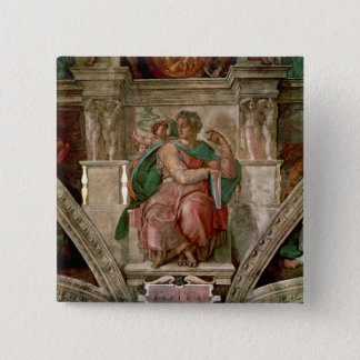 Sistine Chapel Ceiling: The Prophet Isaiah Pinback Button