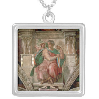 Sistine Chapel Ceiling: The Prophet Isaiah Silver Plated Necklace