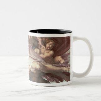 Sistine Chapel Ceiling Two-Tone Coffee Mug