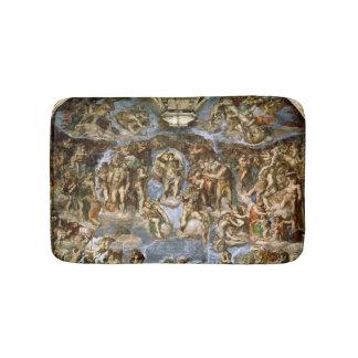 Sistine Chapel: The Last Judgement, 1538-41 Bath Mat
