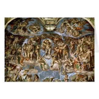 Sistine Chapel: The Last Judgement, 1538-41 Card