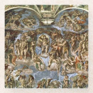 Sistine Chapel: The Last Judgement, 1538-41 Glass Coaster