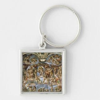 Sistine Chapel: The Last Judgement, 1538-41 Keychain