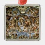 Sistine Chapel: The Last Judgement, 1538-41 Metal Ornament