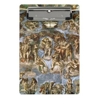 Sistine Chapel: The Last Judgement, 1538-41 Mini Clipboard