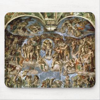 Sistine Chapel: The Last Judgement, 1538-41 Mouse Pad