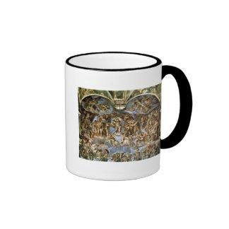 Sistine Chapel: The Last Judgement, 1538-41 Ringer Coffee Mug