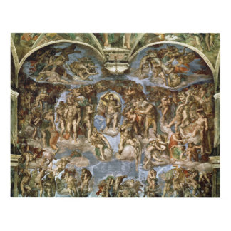 Sistine Chapel: The Last Judgement, 1538-41 Panel Wall Art