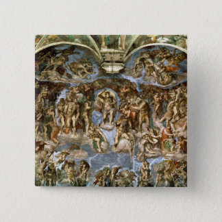 Sistine Chapel: The Last Judgement, 1538-41 Pinback Button