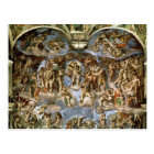 Sistine Chapel: The Last Judgement, 1538-41 Postcard